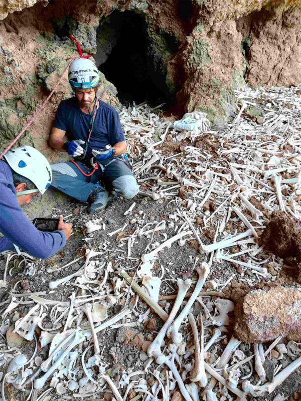 Guanche Burial Cave On Gran Canaria Island