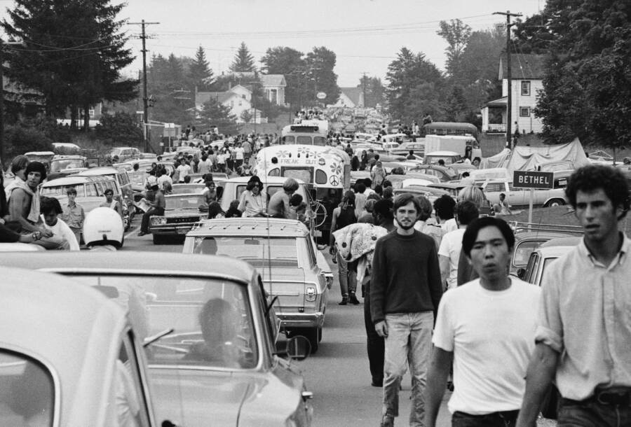 Hippies Heading To Woodstock
