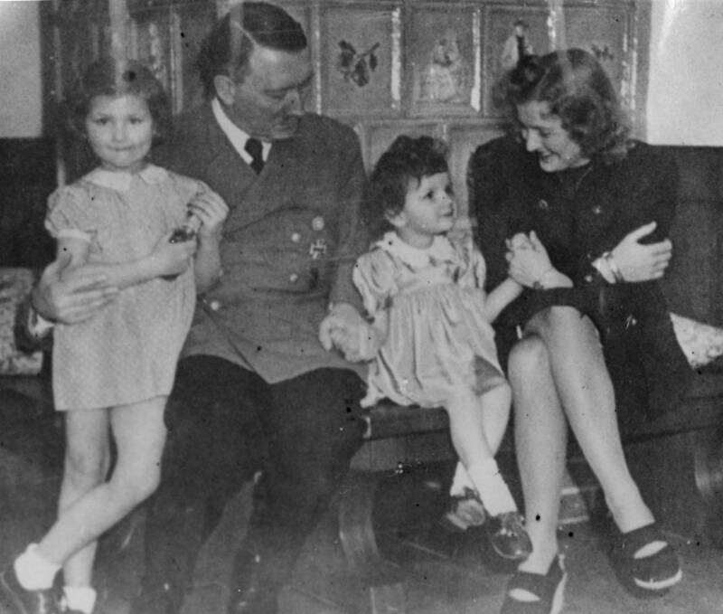 Hitler With Children