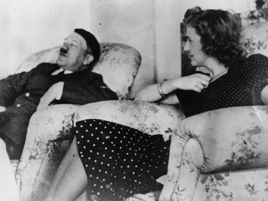 Hitler Taking A Nap