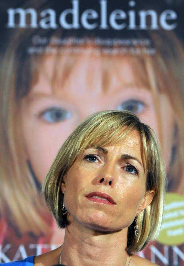 Kate Mccann At Her Book Publishing Event