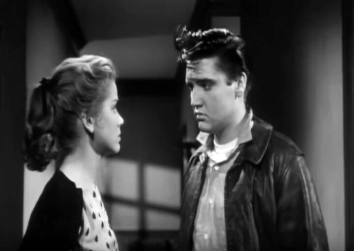 Hart And Elvis Presley In King Creole