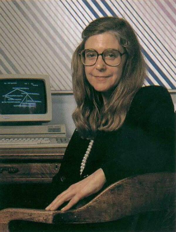 Margaret Hamilton In Her Office In 1989