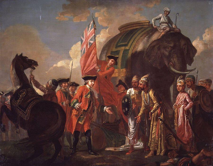 Mir Jafar And Robert Clive