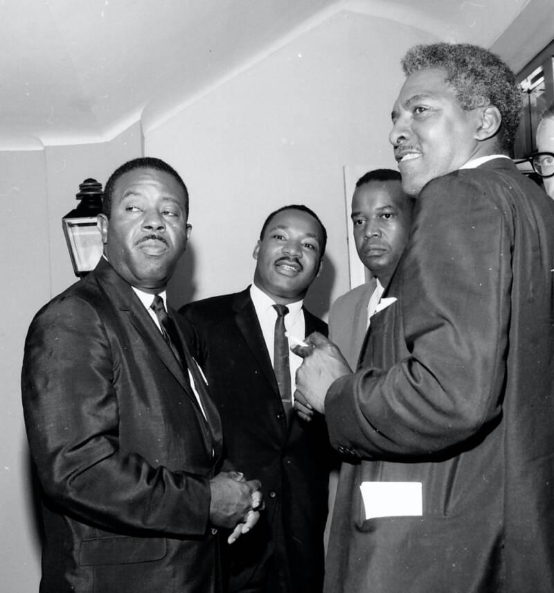 MLK And Bayard Rustin