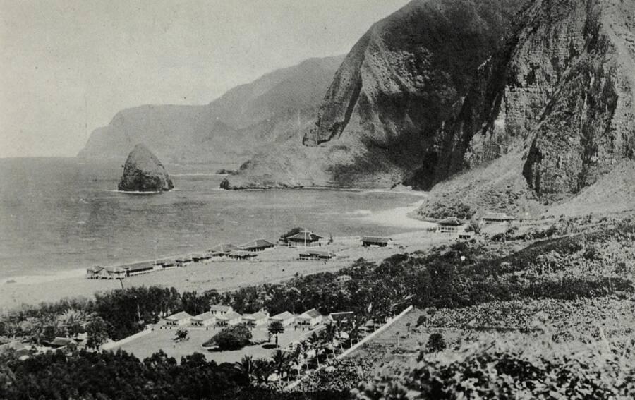 Molokai Leper Colony In 1922