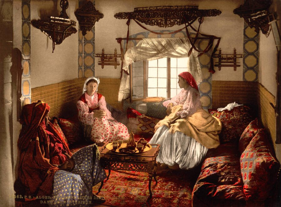Moorish Women In Algiers