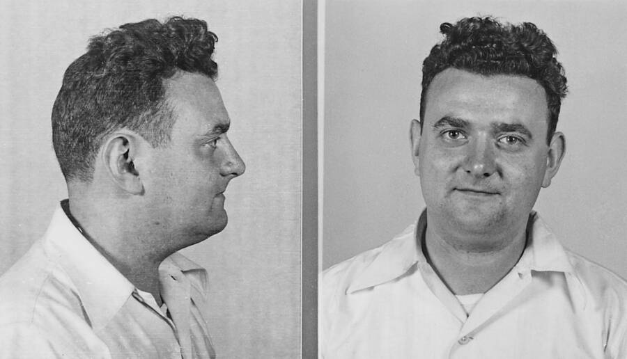 Mugshot Of David Greenglass