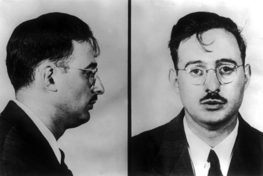 Mugshot Of Julius Rosenberg