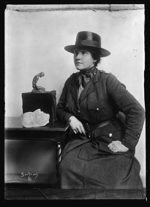 Portrait Of Anna Coleman Ladd