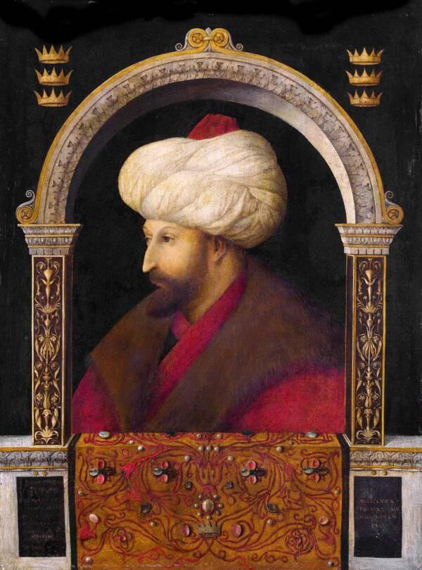 Portrait Of Mehmed II