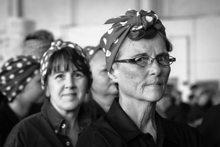 Rosie The Riveter Group