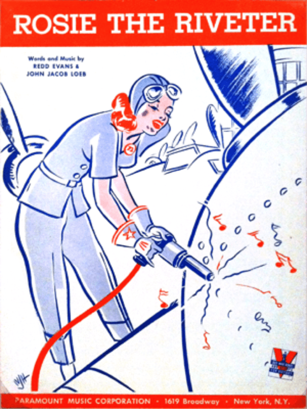Rosie The Riveter Sheet Music