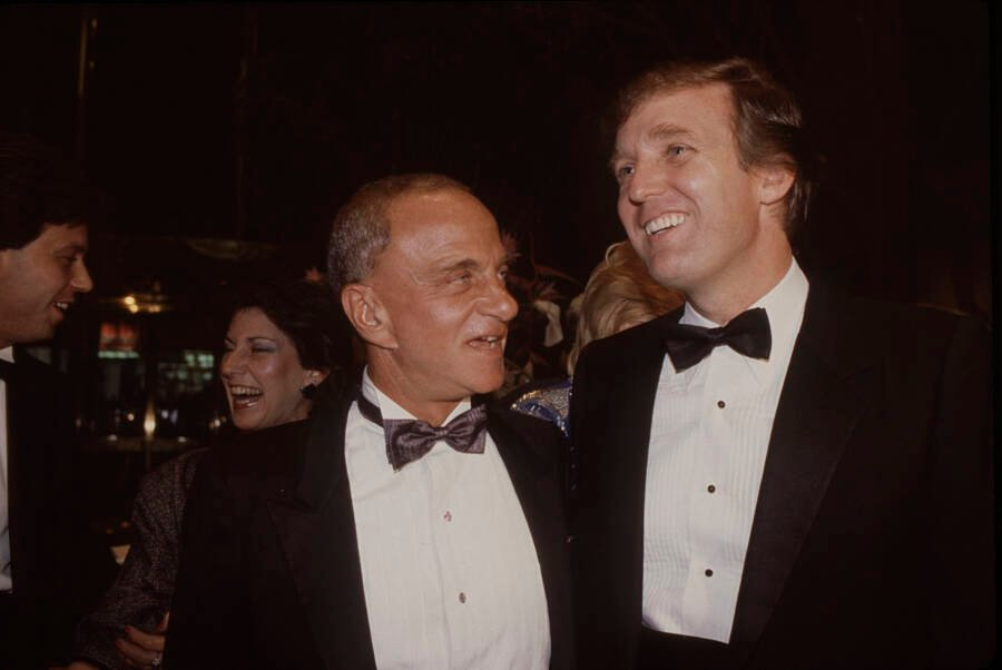 Roy Cohn And Donald Trump