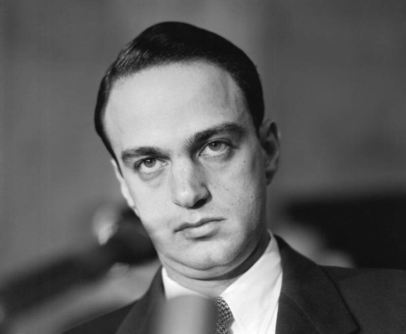 Roy Cohn During The Army Mccarthy Hearings