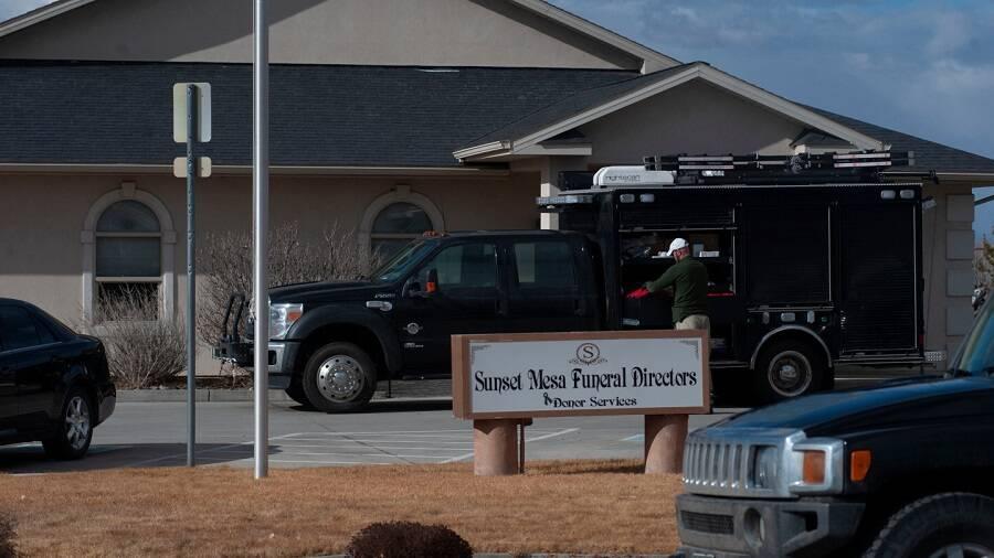 Sunset Mesa Funeral Directors Building