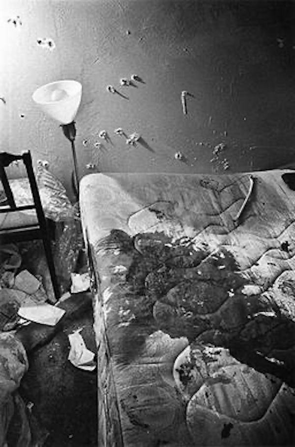 The Bed Of Fred Hampton