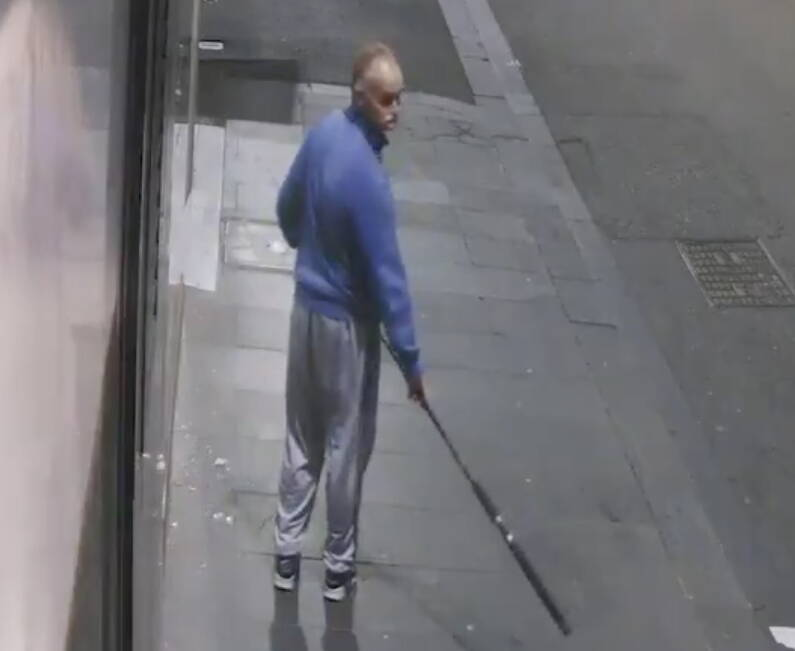 Thief With Fishing Rod