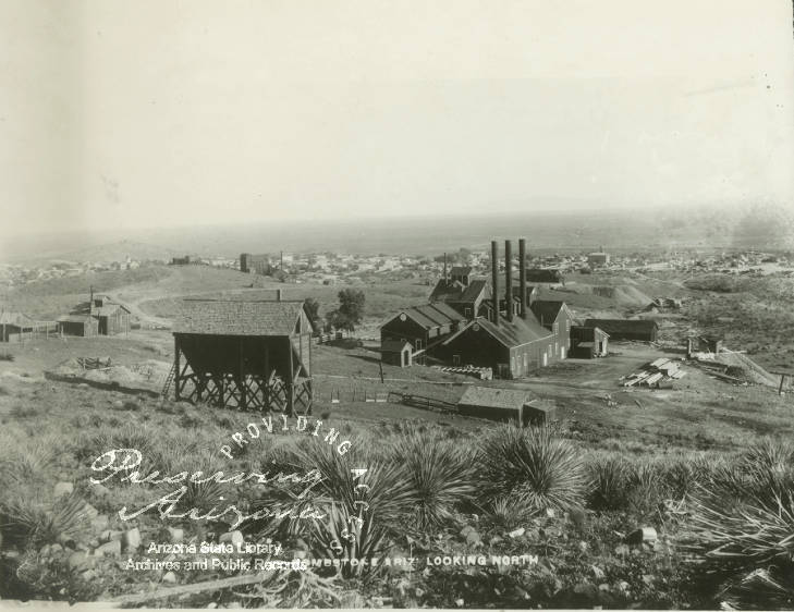 Full Shot Of The Tombstone Mine