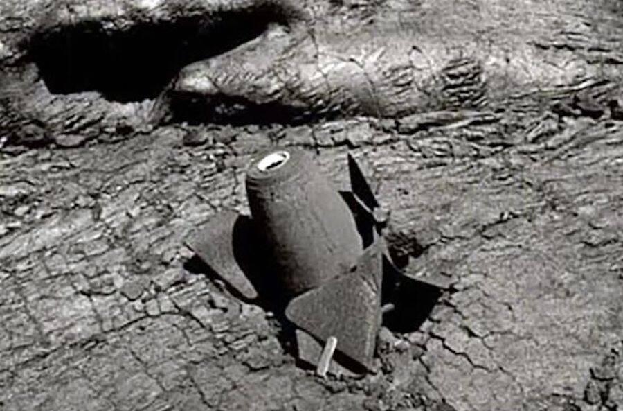 Unexploded Mauna Loa Bomb