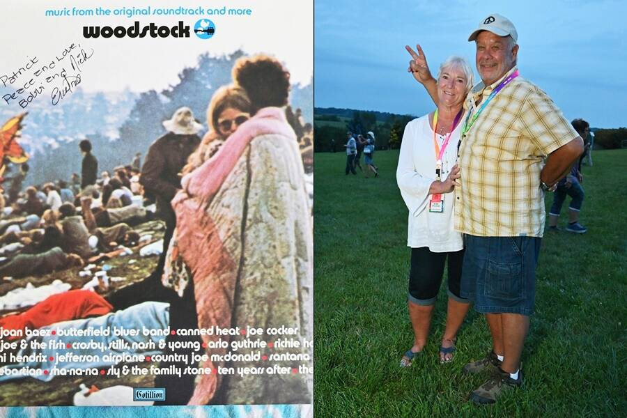 Couple On The Woodstock Album Cover