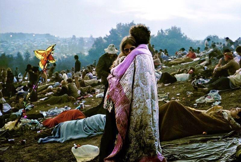 Woodstock Album Couple