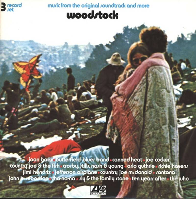 The Woodstock Album Cover
