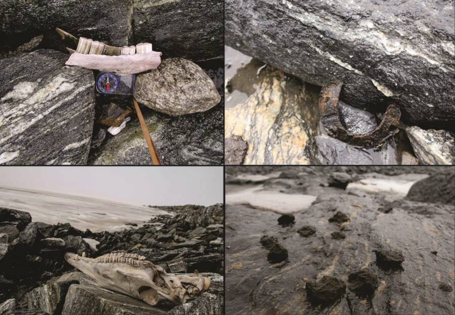 Artifacts Discovered At Lendbreen