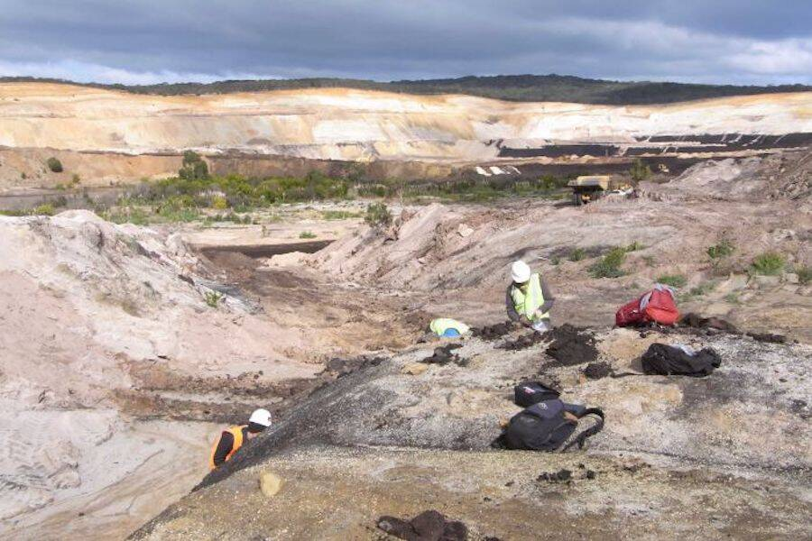 Australian Coal Mine Dig Site