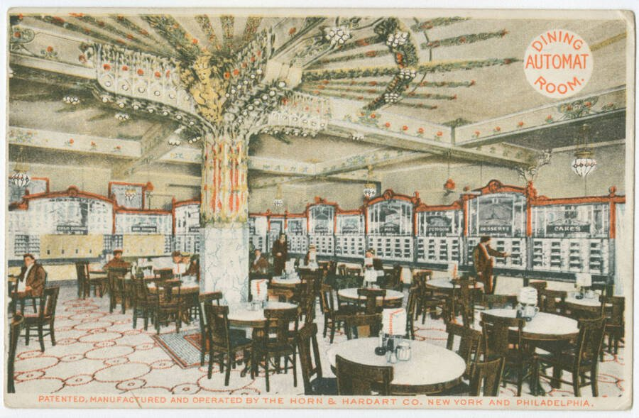 Automat Dining Room 1906