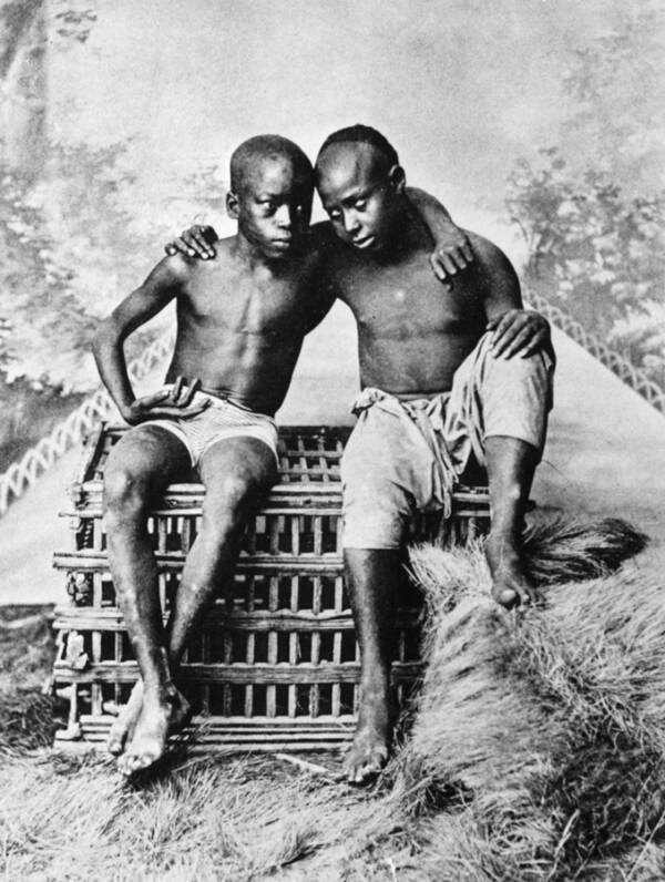 Black Slave Children