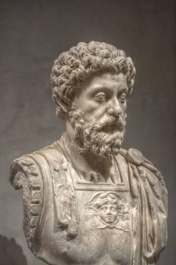 Bust Of Marcus Aurelius Antoninus
