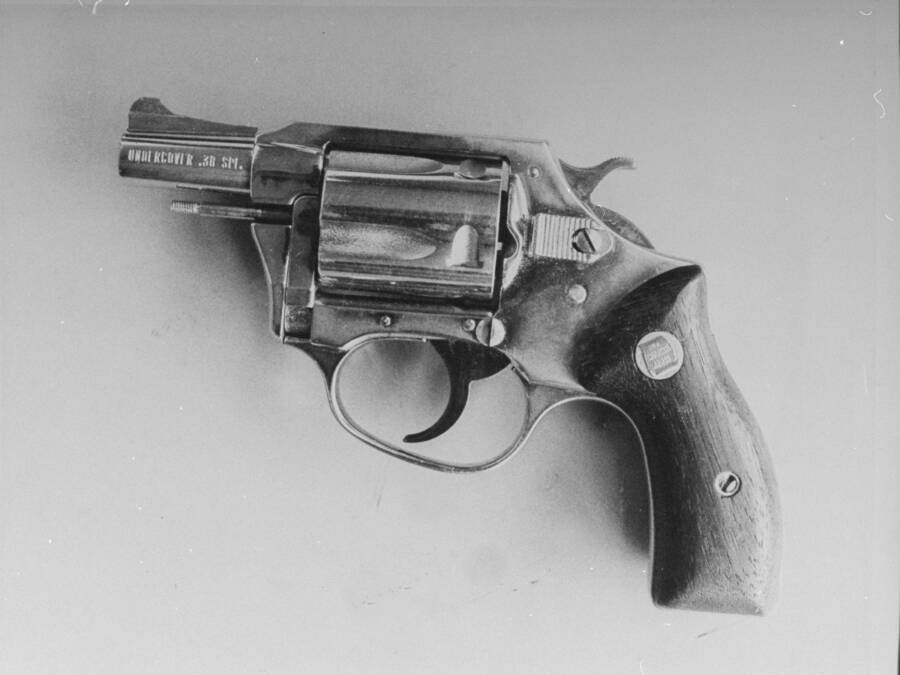 Charter Arms Revolver Of Mark David Chapman