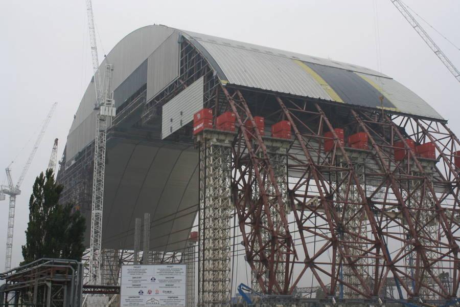 Chernobyl Confinement Structure