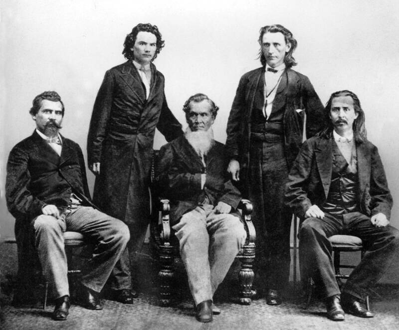 Cherokee Members In Suits