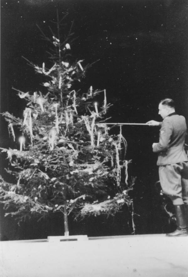 Christmas Tree At Auschwitz