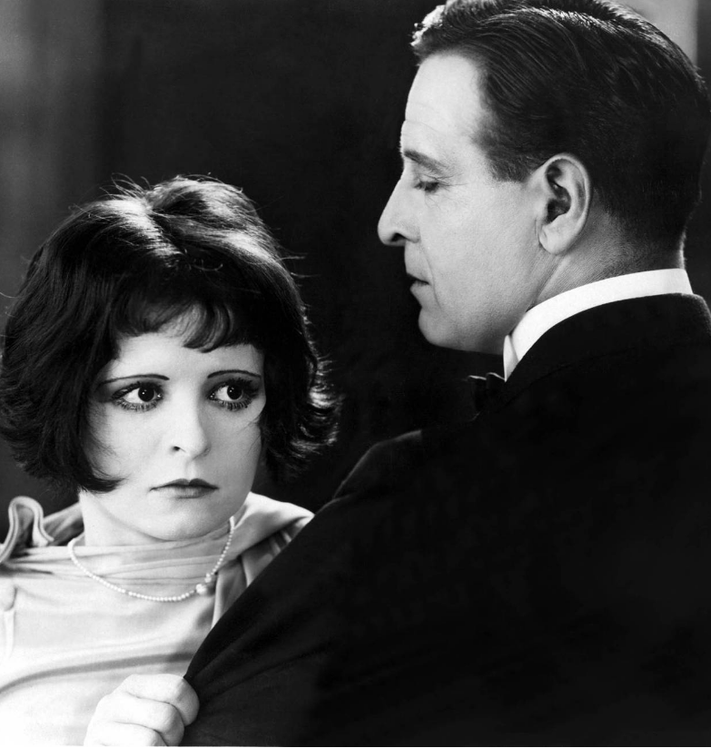 Clara Bow In A Man's Arms
