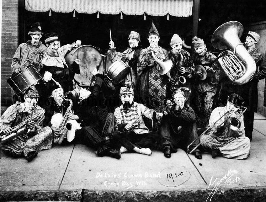 Clown Band Photo From Wisconsin Maritime Museum