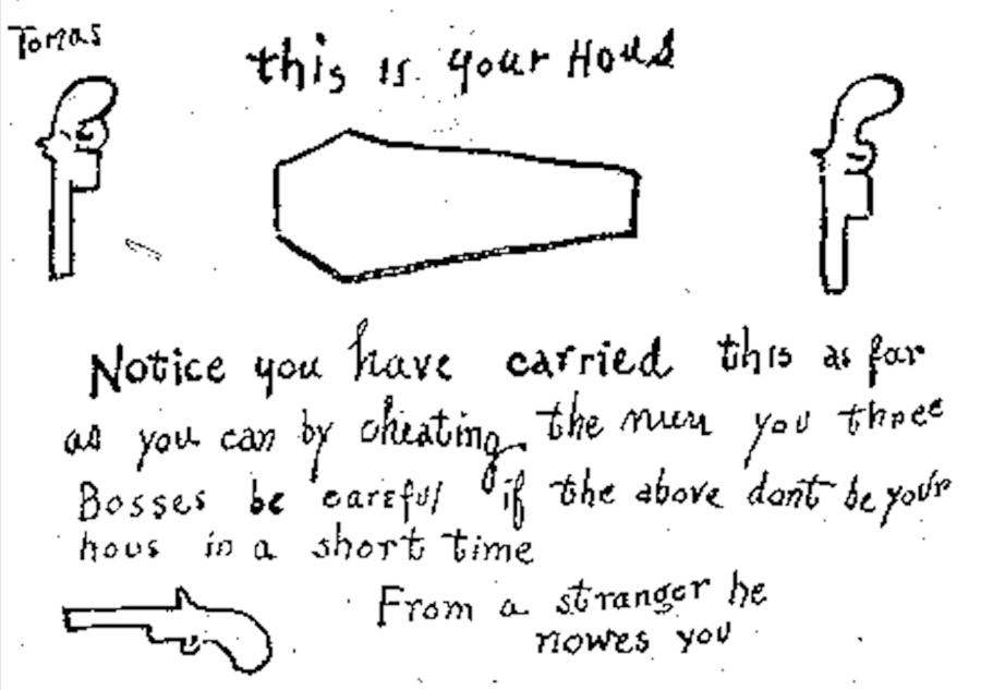 Coffin Notice