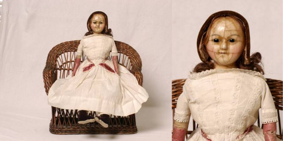 Cracked Doll From Chelmsford Museum