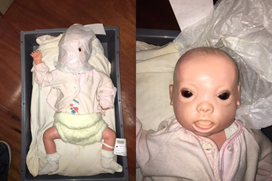 Creepy Baby At Museums Of Victoria Australia