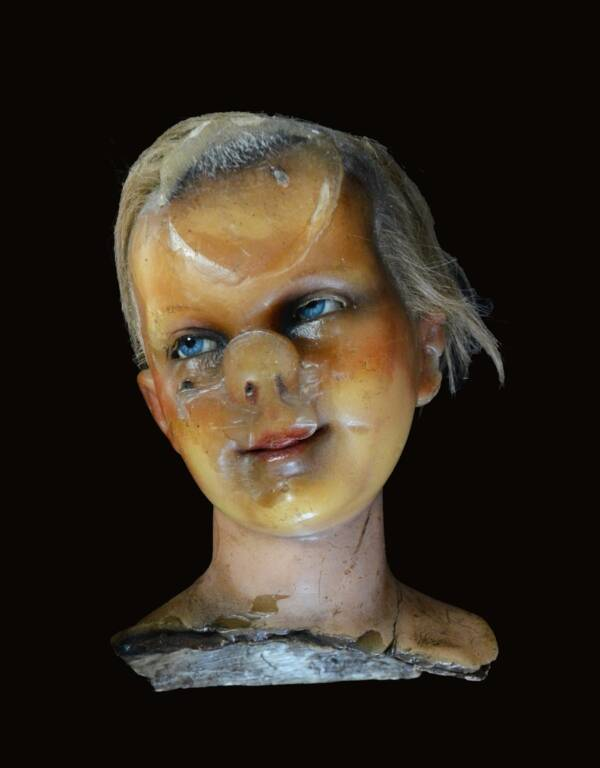 Distorted Doll Head From Museum Of Fear And Wonder