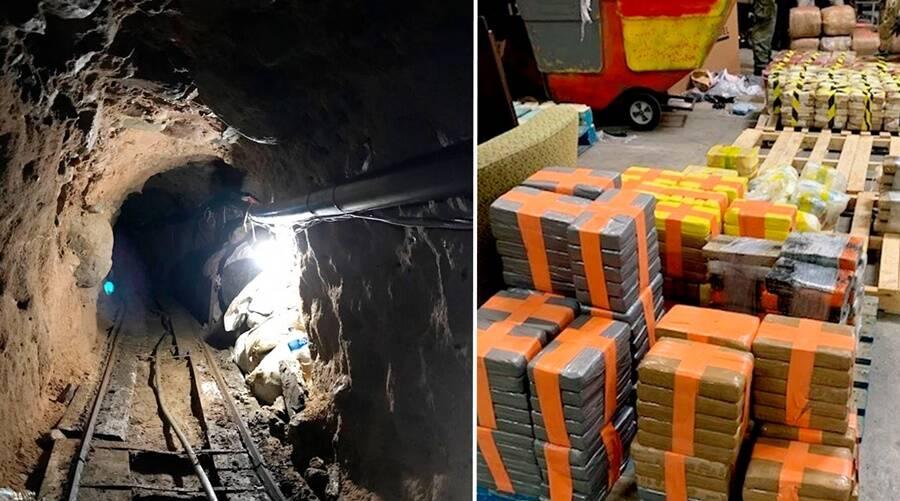 Drug Tunnel Bust