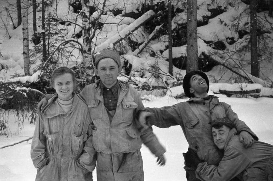 Dubinina, Krivonishchenko Thibeaux Brignolle And Slobodin Of The Dyatlov Pass Incident
