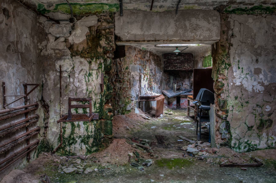 Eastern Penitentiary Rec Room