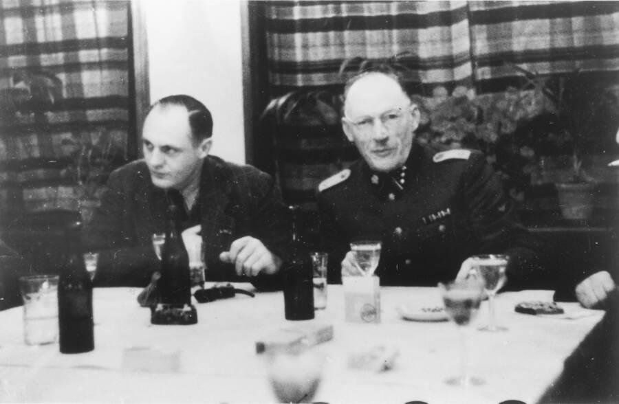 Eduard Wirths And Heinrich Joste
