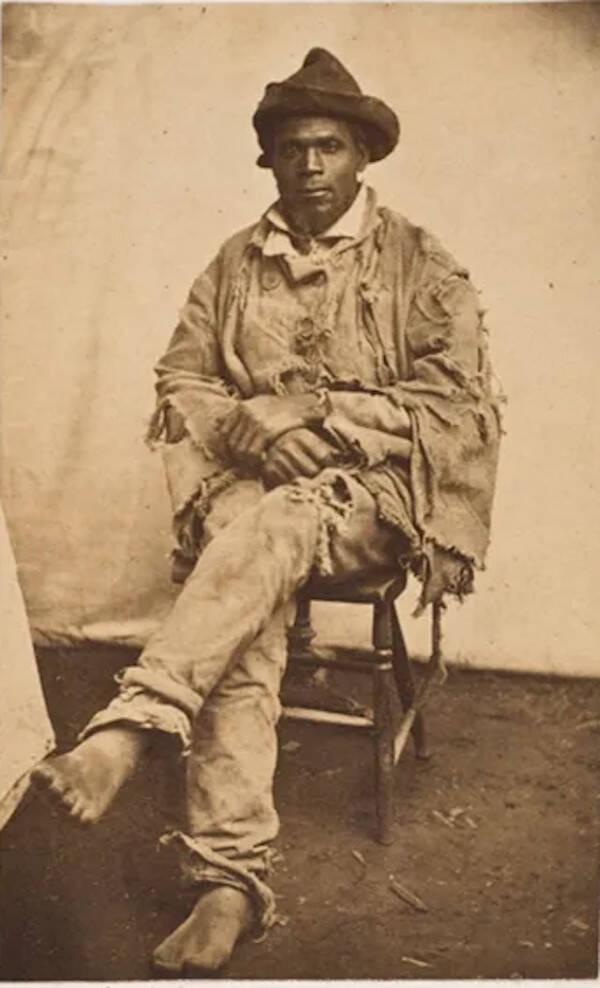 Gordon The Slave's Portrait