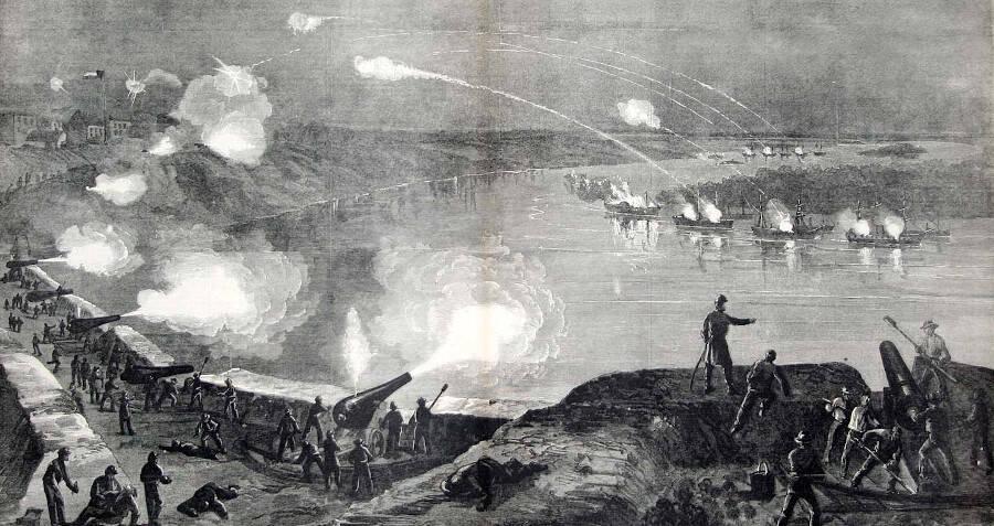 Harper's Magazine Photo Of The Port Hudson Siege