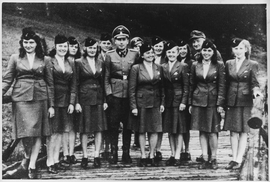 Hocker And Female Officers