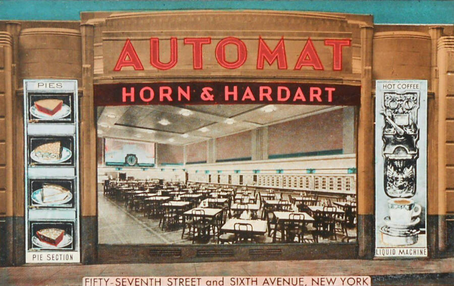 Horn & Hardart Postcard